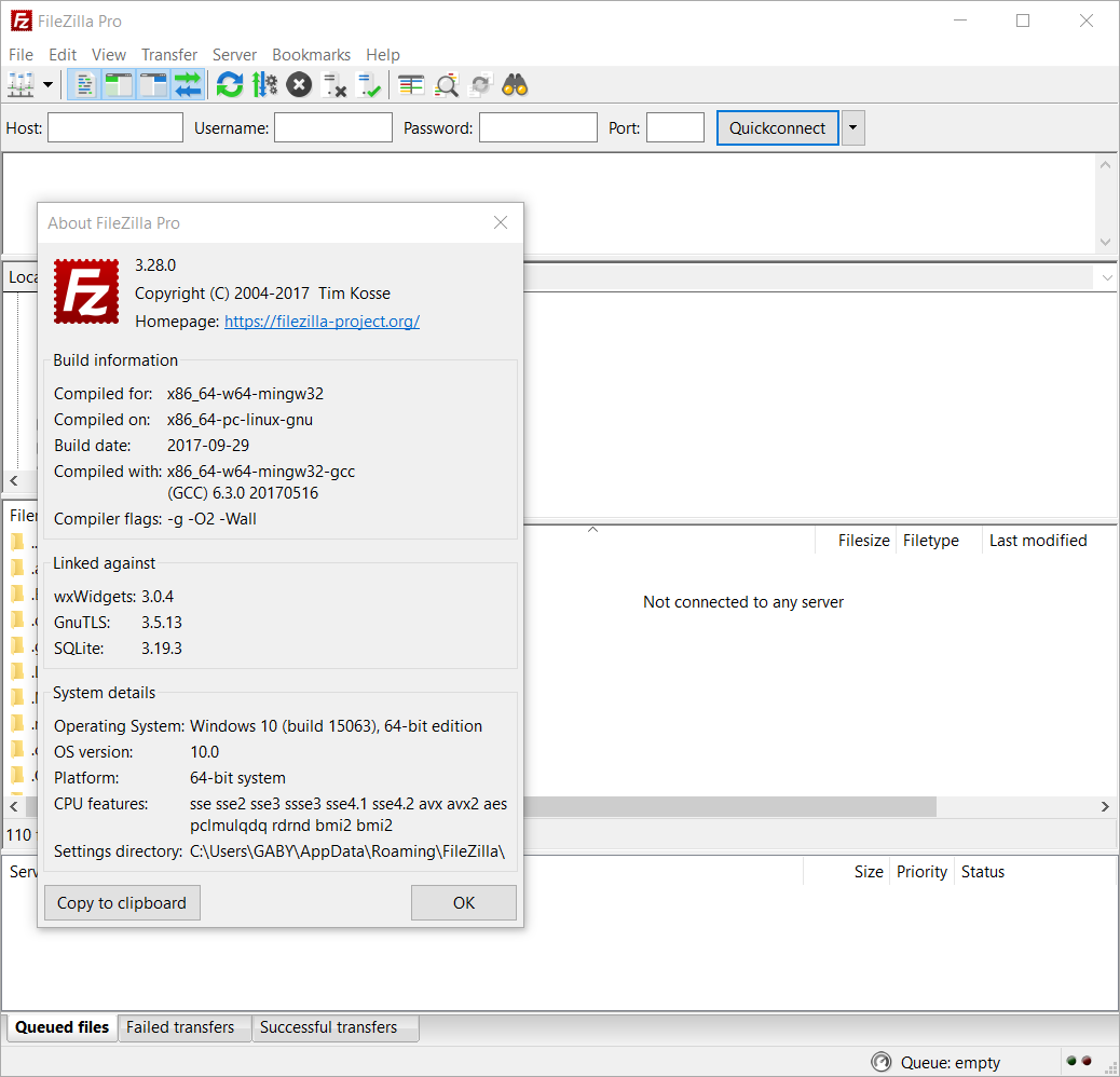 Filezilla Pro 3 28 0 – The Best FTP Solution – SoftWarez